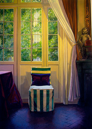 Kathleen E. Marshall - One Striped Chair - Cherche Midi